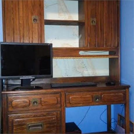 Thomasville Mid-Century Nautical Bedroom Set