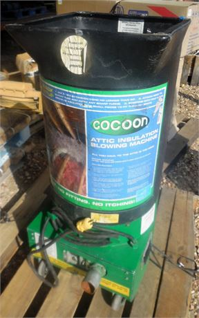 SALE!! Cocoon Monarch-1000 Insulation Blower Machine