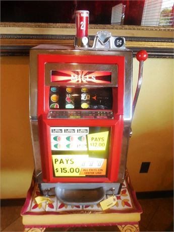 1967 Mills Bell-O-Matic Tabletop Slot Machine
