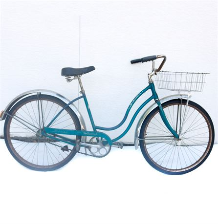 "Schwinn ""Hollywood"" Bicycle with Basket"