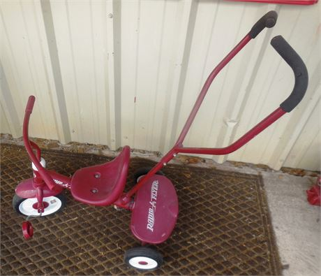 Retro Radio Flyer Tricycle w/ Handle