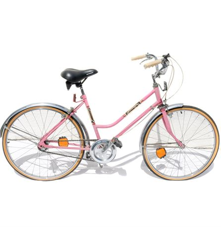 1980s Pink All-Pro Schwinn Three Speed Bike