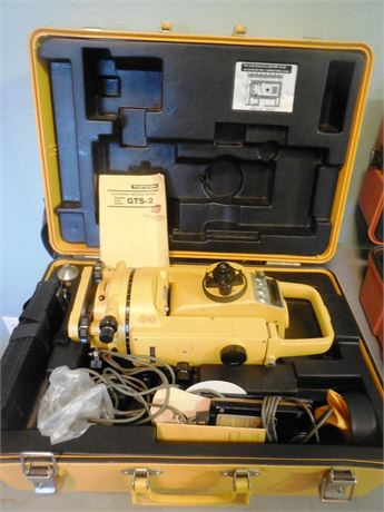 TopCon GTS-2 Total Station